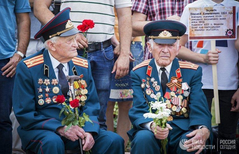 Памятные мероприятия, посвященные началу Великой Отечественной войны, в этот день прошли и в Кишиневе.