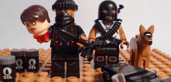 СМИ: в сети продают поддельный конструктор LEGO с фигурками боевиков ИГ*