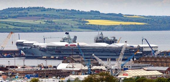 Крупнейший корабль ВМС Британии впервые в истории отправится в плавание    РИА Новости https://ria.ru/world/20170626/1497269045.html