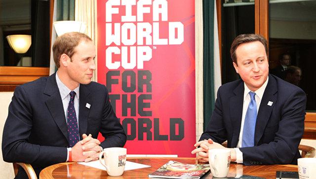 Кэмерон и принц Уильям могли быть замешаны в коррупционном скандале ФИФА