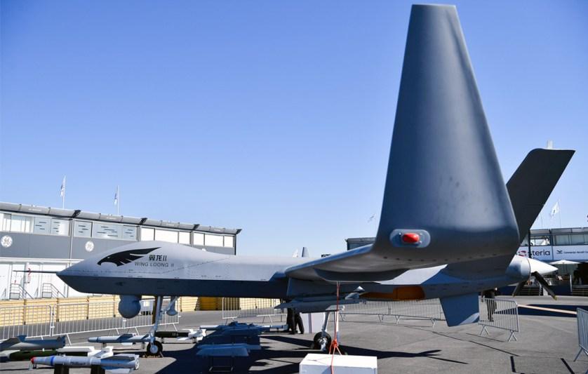 Модель дрона Wing Loong II от корпорации авиационной промышленности Китая