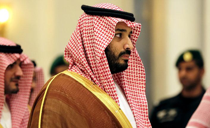 Заместитель наследного принца Саудовской Аравии Мухаммад ибн Салман