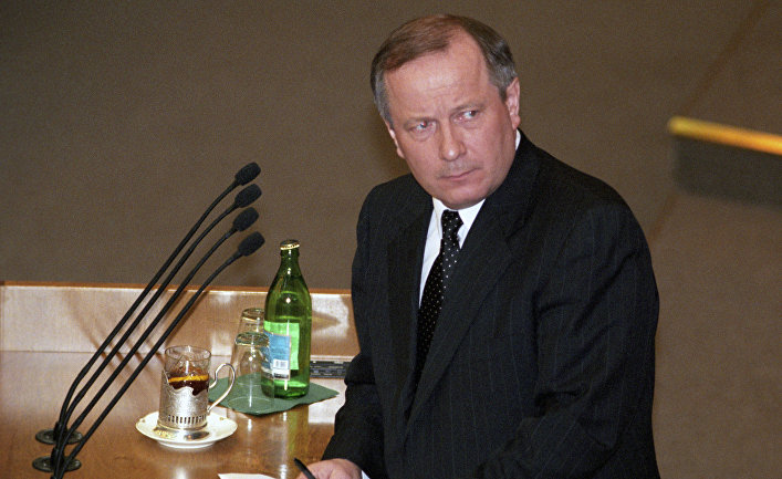 Генеральный прокурор РФ Юрий Скуратов, 1999 год