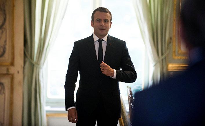 Le Monde (Франция): Макрон объясняет смену позиции по Асаду