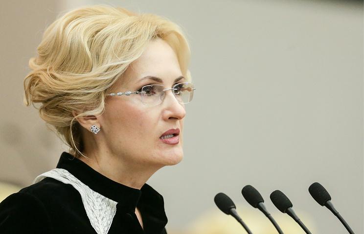 Яровая назвала преступлением принятие в Польше закона о сносе памятников Красной армии