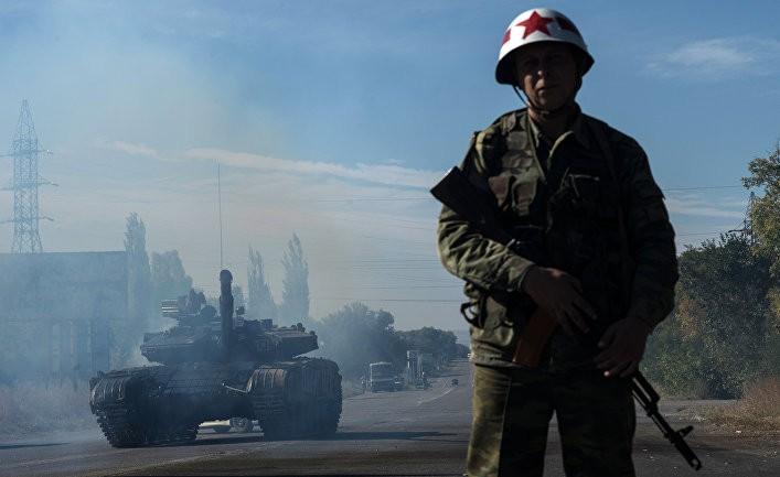 Отвод вооружений калибра менее 100 миллиметров от линии соприкосновения в самопровозглашенной Луганской народной республике