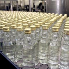Производство водки в России с начала года выросло на четверть