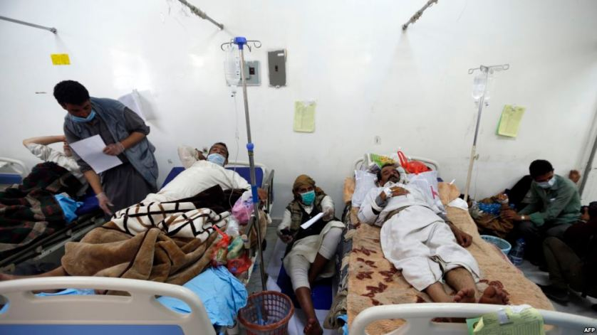 اليمن.. توقع ارتفاع الإصابات بالكوليرا
