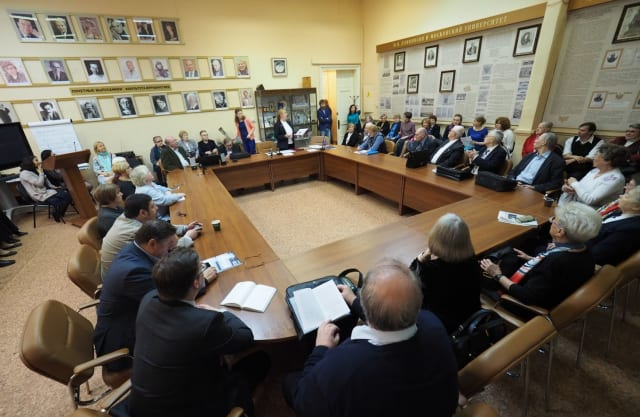 Заседание Ученого совета на факультете журналистики МГУ