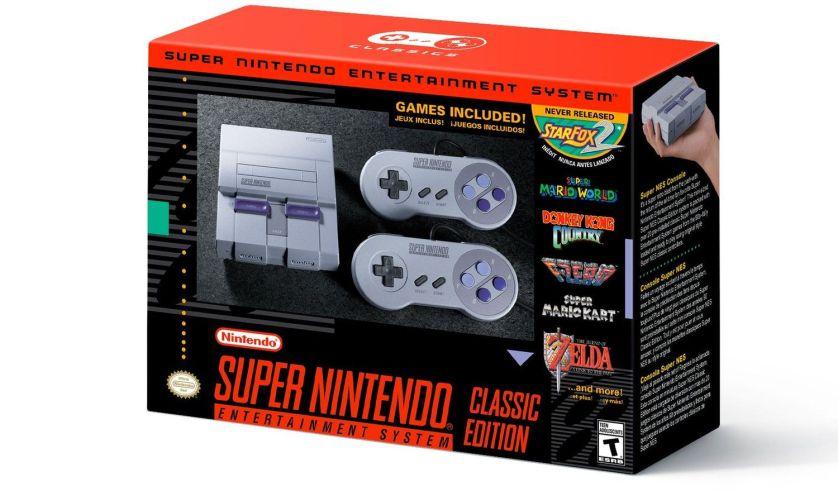 Nintendo выпустит мини-версии своей классической 16-битной приставки