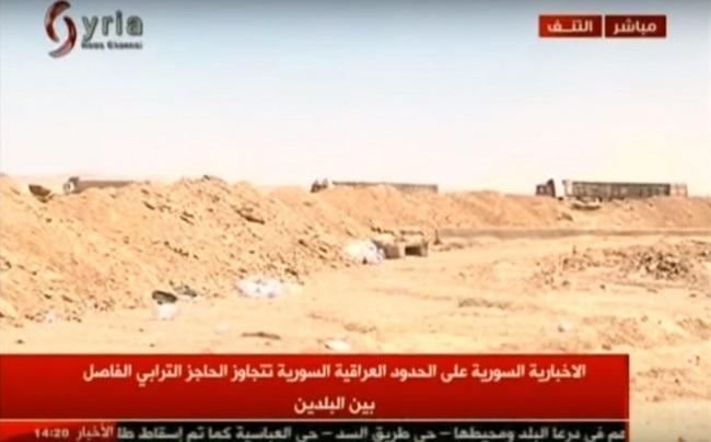 Первые автоколонны из Ирака в Сирию