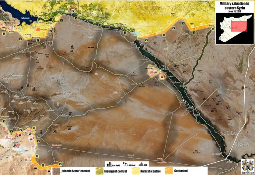 Район осажденного Дейр эз-Зора станет местом «последней битвы» с ИГ, который должна выиграть правительственная армия при поддержке России и Ирана