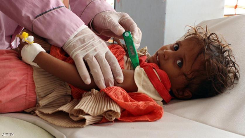 الكوليرا تهدد حياة أكثر من نصف مليون يمني