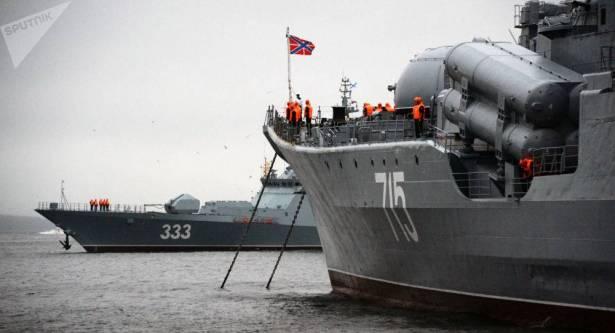 """"""" سوفيرشيني""""… سفينة حربية جديدة تدخل الخدمة في أسطول المحيط الهادئ"""