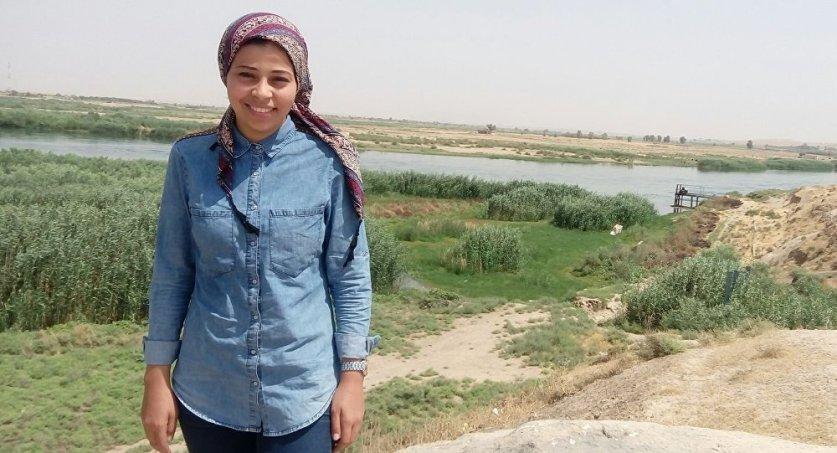 """مراسلة """"سبوتنيك"""" المصرية سارة نور الدين تنجو من رصاص """"داعش"""" وتروي قصتها"""