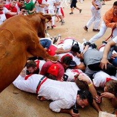 مصارعة الثيران في اسبانيا