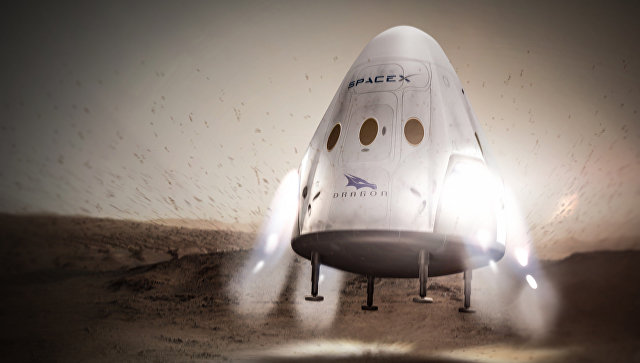 СМИ: Элон Маск отказался от планов по посадке корабля Dragon на Марс
