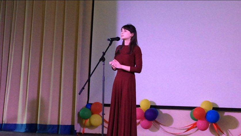 Мария Аллёнова, абитуриентка Государственного музыкального училища имени Гнесиных