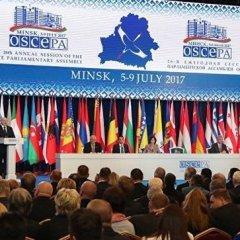 ПА ОБСЕ приняла резолюцию Украины, призывающую Россию отказаться от Крыма