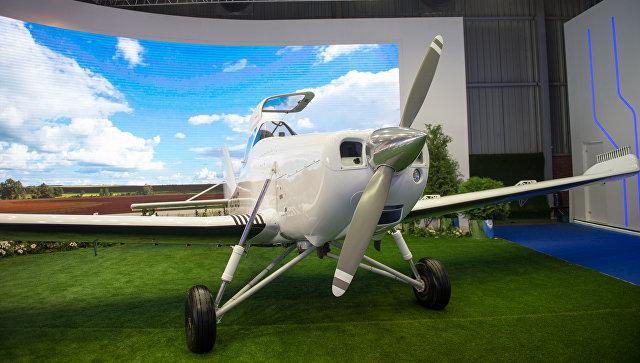 «Ростех» представила на МАКС-2017 свой первый самолет