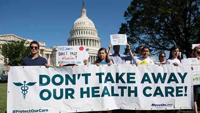 В сенате вновь провалился план по замене реформы здравоохранения Obamacare