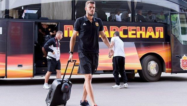 Тульский «Арсенал» оштрафовали за то, как футболисты выходили из автобуса