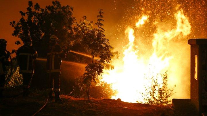 فرنسا: حرائق الغابات تدمر مئات الهكتارات جنوبي البلاد