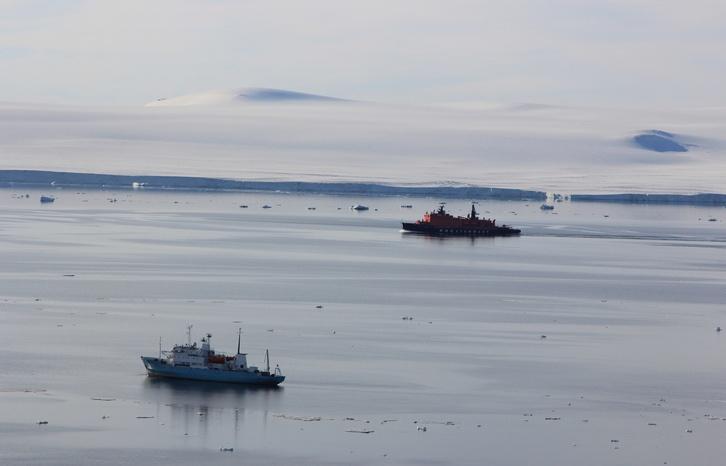 Плавучий университет завершил работы на архипелаге Земля Франца-Иосифа