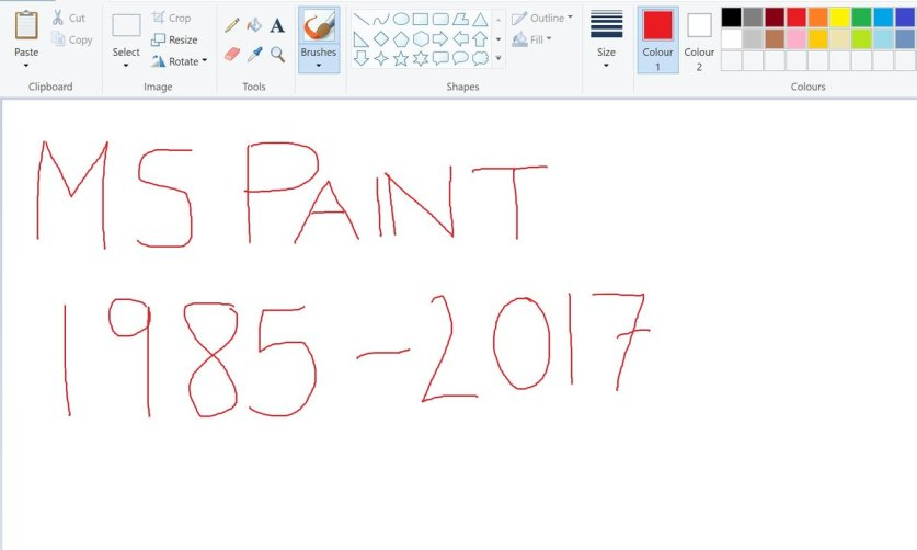Windows прекратит поддержку Paint