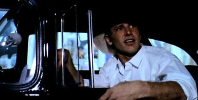 """Кадр из фильма """"Американские граффити"""", режиссер Джордж Лукас, 1973 год"""