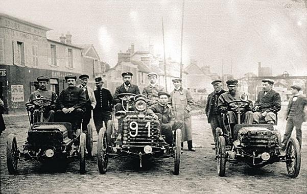 Этот день в истории: 22 июля 1894 года — первая автомобильная гонка в Париже