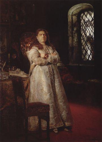 И.Е. Репин. «Царевна Софья». 1879