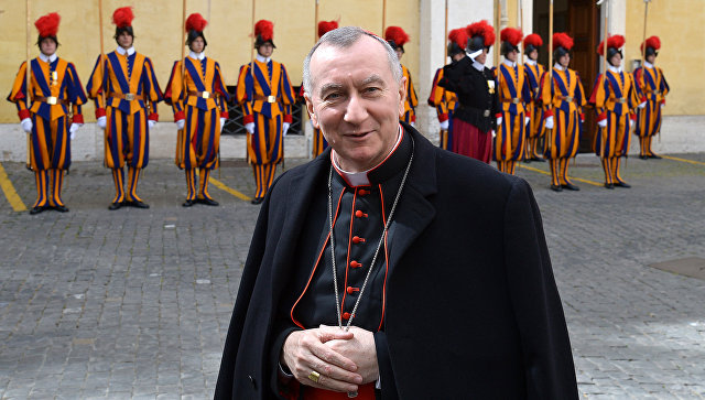Кардинал Паролин и митрополит Иларион обсудили ситуацию в Сирии и Украине