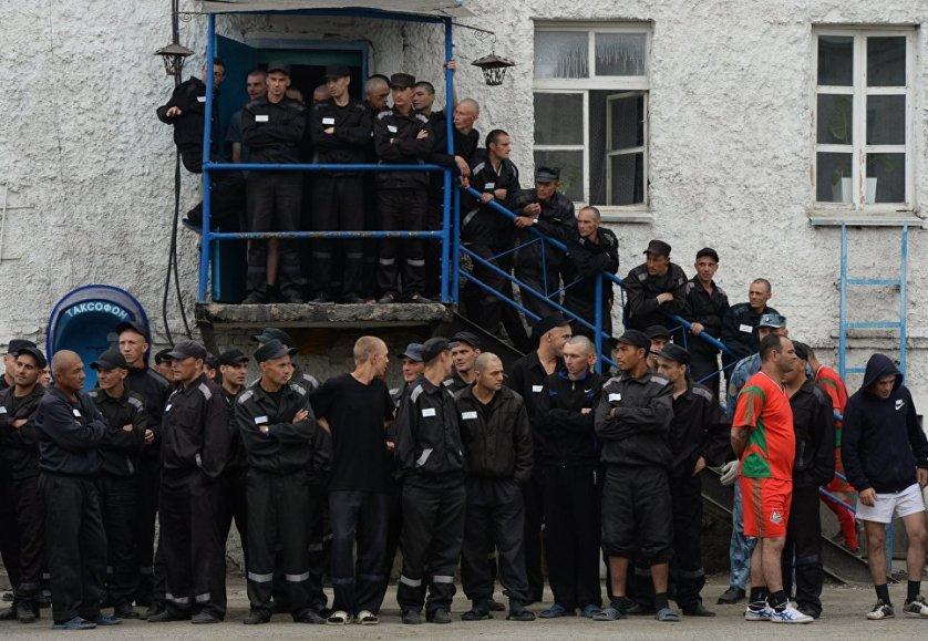 Мини-футбол среди осужденных ИК-2 ГУФСИН по Новосибирской области