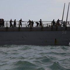 В США не нашли следов кибератаки в аварии с эсминцем «Джон Маккейн»
