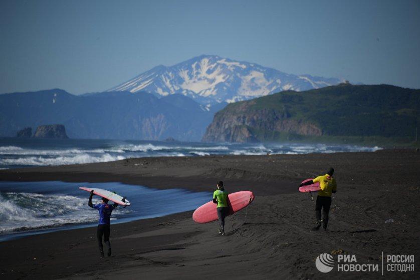 В рамках фестиваля прошел открытый чемпионат Петропавловск-Камчатского городского округа по серфингу.