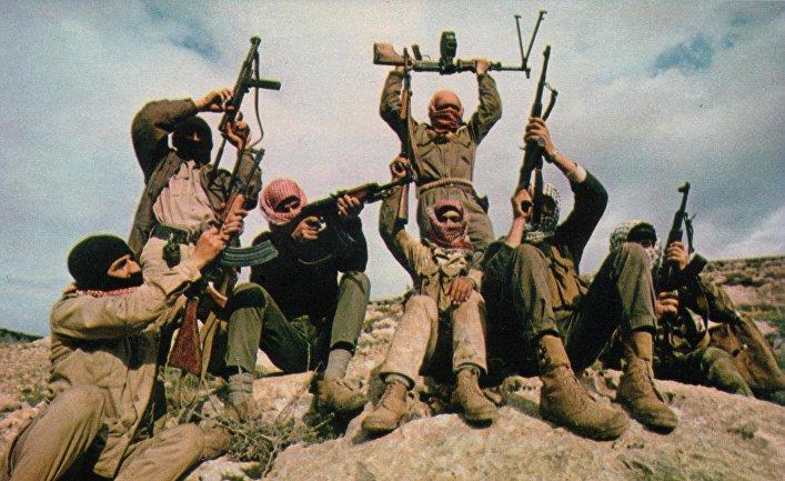 Члены группировки «Народного фронта освобождения Палестины»