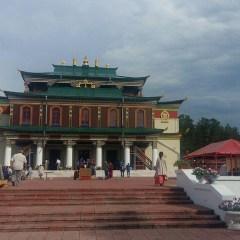 В Забайкалье восстановили уникальный буддийский храм, сгоревший в 2014 году