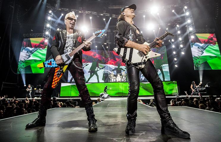 Scorpions приедет в Россию осенью