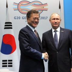 Президенты России и Южной Кореи встретятся в сентябре во Владивостоке