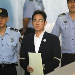Глава Samsung Electronics приговорен к 5 годам тюрьмы за взяточничество
