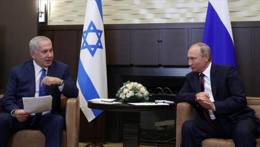 نتنياهو للرئيس الروسي: إيران تعزّز تواجدها في سوريا