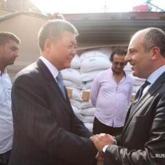 Китай предоставил Ливану экстренную продовольственную помощь