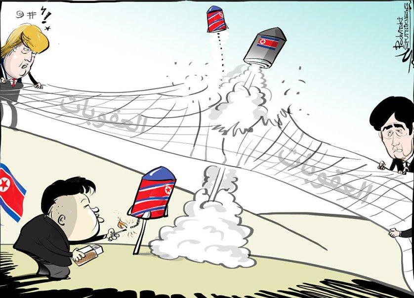 العقوبات لم تساعد…صواريخ كيم جون أون تصل اليابان
