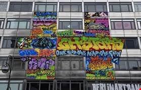 برلين تستضيف متحفاً للرسوم في الشوارع