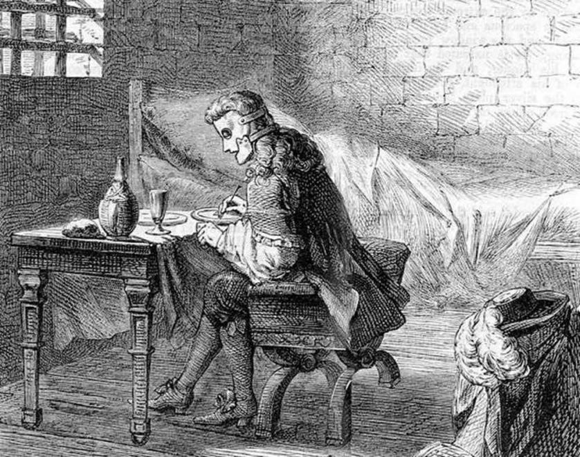 Этот день в истории: 18 сентября 1698 года  — В Бастилию перевели «Железную маску»