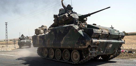 Турция стягивает спецназ к сирийской границе