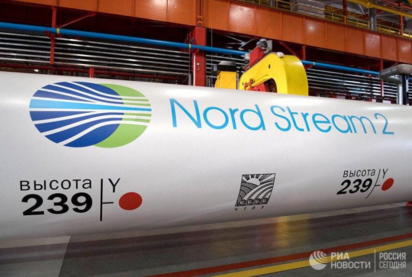 """Трубы для газопровода """"Северный поток 2"""""""