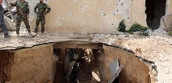 Сирийский генерал рассказал о «подземной войне» боевиков в Дамаске