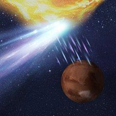Астрономы узнали, чем закончилась встреча Марса, кометы и вспышки с Солнца